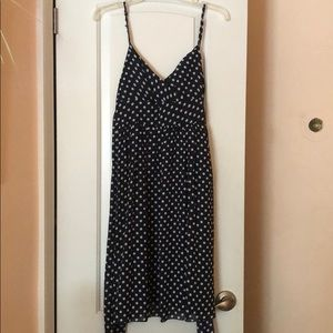 Sphagetti strap polka dot dress